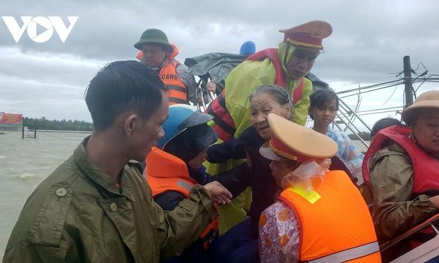 23 người tử vong, 18 người mất tích do mưa lũ tại các tỉnh Miền Trung