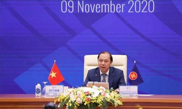 ASEAN 2020: các Bộ trưởng tiếp tục họp trực tuyến
