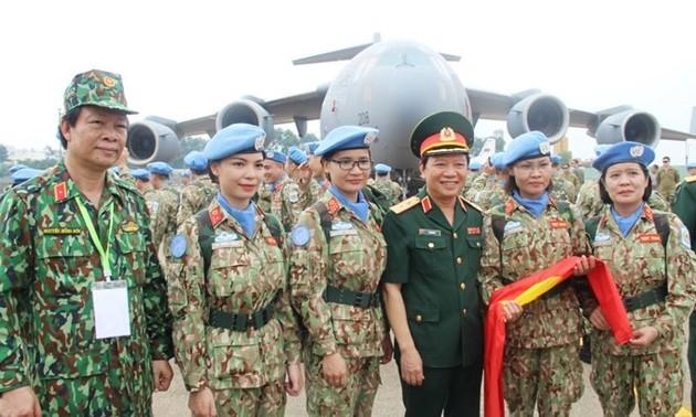 Phụ nữ góp phần quan trọng vào thành công trong gìn giữ và xây dựng Hòa bình