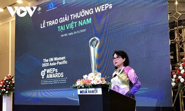 9 doanh nghiệp Việt Nam nhận Giải thưởng nguyên tắc trao quyền cho phụ nữ châu Á-Thái Bình Dương