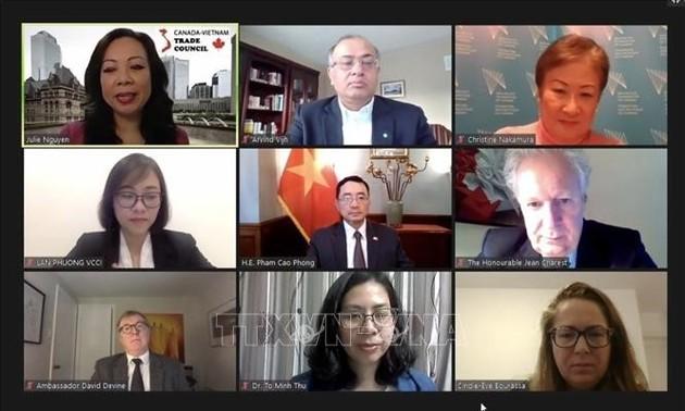 Việt Nam-Canada nỗ lực khai thác hiệu quả CPTPP thời hậu COVID-19