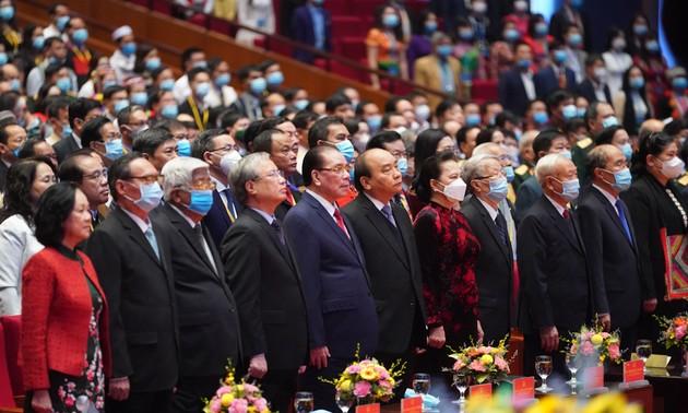 Khai mạc Đại hội đại biểu toàn quốc các Dân tộc thiểu số Việt Nam lần thứ 2