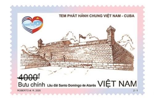 Phát hành bộ tem kỷ niệm quan hệ ngoại giao Việt Nam-Cuba