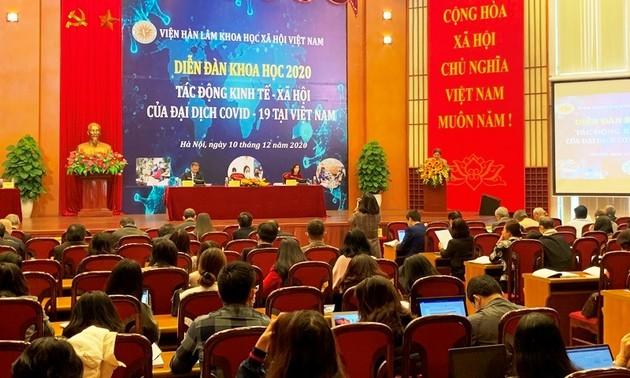 Dịch COVID-19 tác động tới nhiều lĩnh vực tại Việt Nam