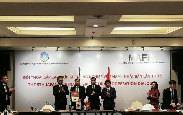 Đối thoại cấp cao lần thứ 5 về Nông nghiệp Việt Nam - Nhật Bản