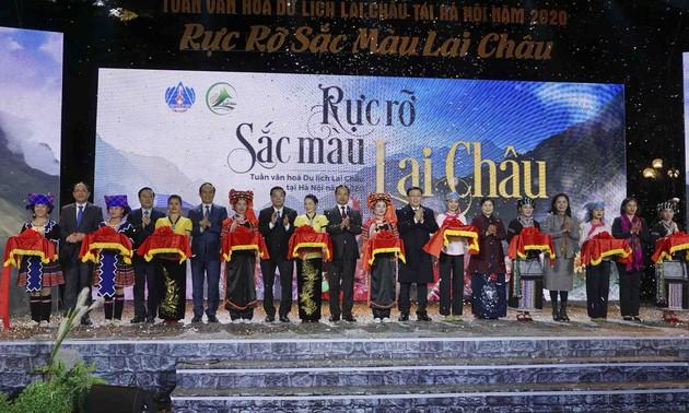 Khai mạc Tuần Văn hóa du lịch Lai Châu tại Hà Nội