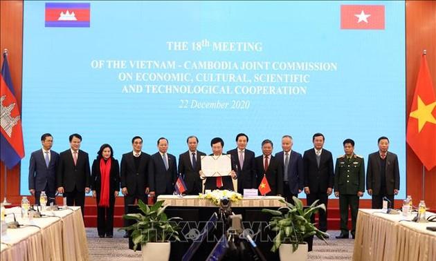 Việt Nam – Campuchia tăng cường mối quan hệ đối tác chiến lược toàn diện giữa hai nước