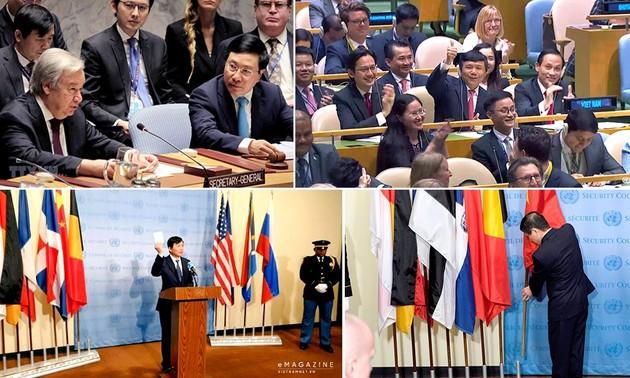 Dấu ấn ngoại giao đa phương năm 2020