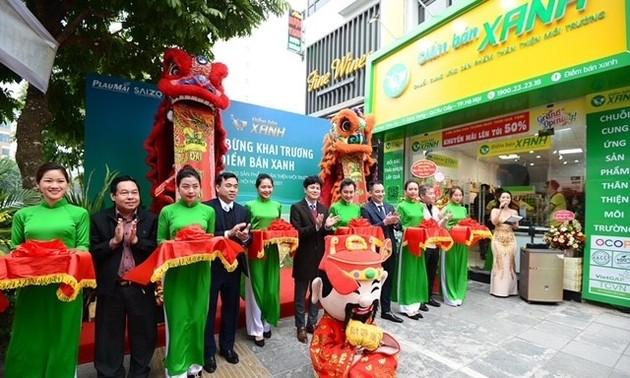 Khai trương Điểm bán Xanh - Chuỗi cung ứng sản phẩm thân thiện môi trường tại Hà Nội