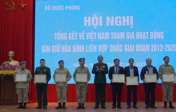Tiếp tục triển khai có hiệu quả Đề án tổng thể Việt Nam tham gia hoạt động gìn giữ hòa bình Liên hợp quốc