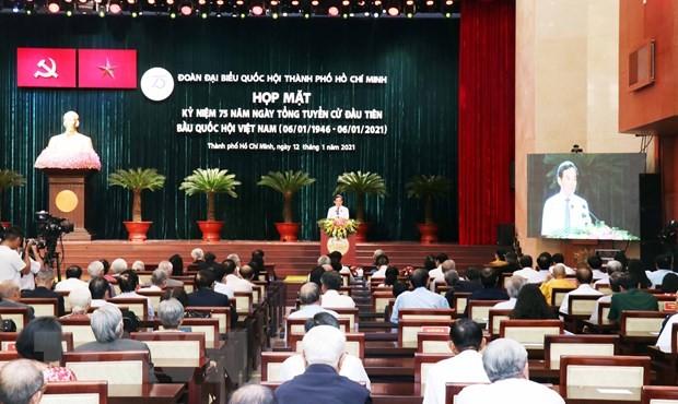 Thành phố Hồ Chí Minh gặp mặt kỷ niệm 75 năm Ngày Tổng tuyển cử đầu tiên