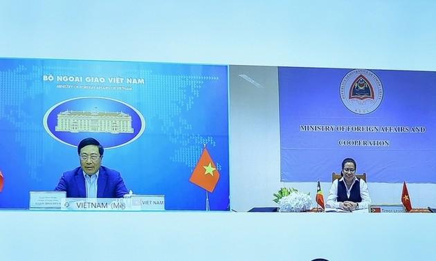 Việt Nam - Timor-Leste tăng cường hợp tác