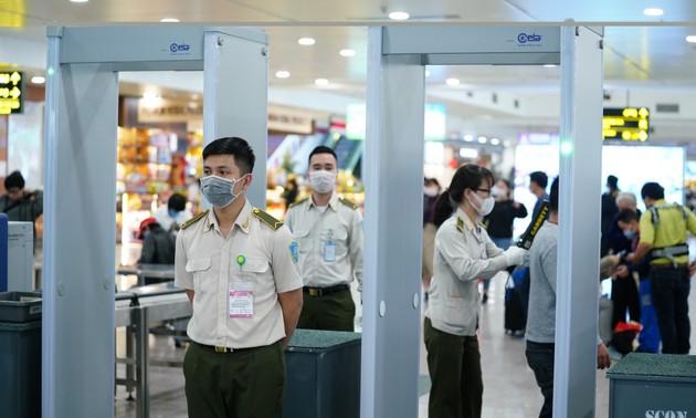 Áp dụng kiểm soát an ninh hàng không cấp độ 1 phục vụ Đại hội Đảng