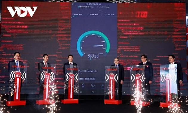 Lần đầu tiên khai trương mạng 5G tại khu công nghiệp ở tỉnh Bắc Ninh
