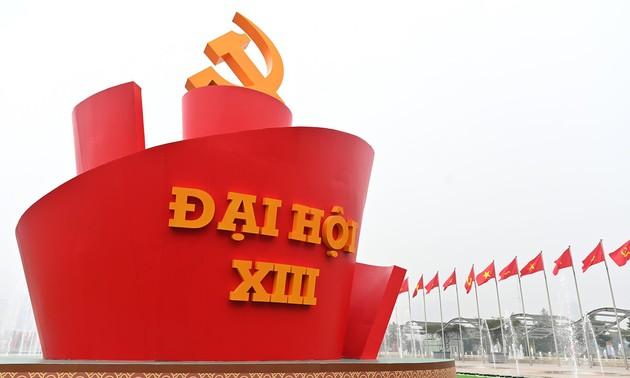 Các đại biểu tin tưởng vào thành công tốt đẹp của Đại hội Đảng toàn quốc lần thứ XIII