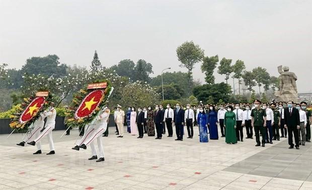 Lãnh đạo Thành phố Hồ Chí Minh tri ân công lao các Anh hùng Liệt sỹ