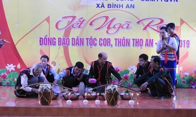 Vui Tết Ngã rạ cùng đồng bào Cor ở tỉnh Quảng Ngãi