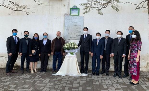 Tưởng niệm các nhà báo Algeria hy sinh ở Việt Nam