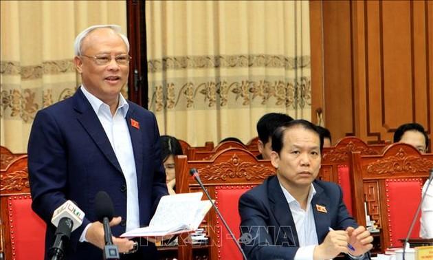 Phó Chủ tịch Quốc hội Uông Chu Lưu giám sát, kiểm tra công tác chuẩn bị bầu cử tại Thái Bình