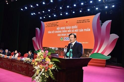 Xây dựng thương hiệu OCOP quốc gia làm cơ sở để tiếp cận thị trường quốc tế