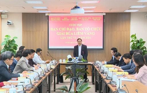 Triển khai Kế hoạch tổ chức Giải Búa liềm vàng lần thứ VI - năm 2021