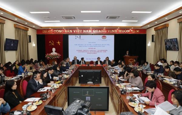 Chia sẻ kinh nghiệm phát triển bền vững giữa Việt Nam với các nước Bắc Âu