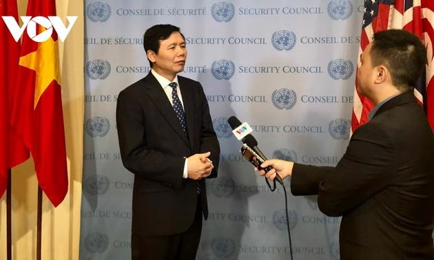 Việt Nam sẵn sàng cho tháng Chủ tịch Hội đồng bảo an Liên hợp quốc