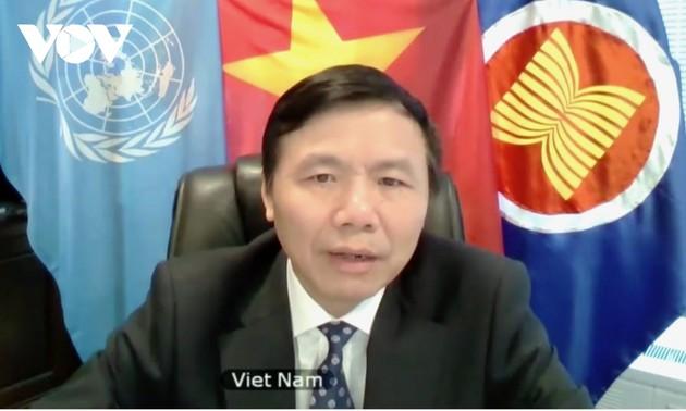 Việt Nam kêu gọi cộng đồng quốc tế tiếp tục hỗ trợ Myanmar chấm dứt bạo lực và ổn định tình hình
