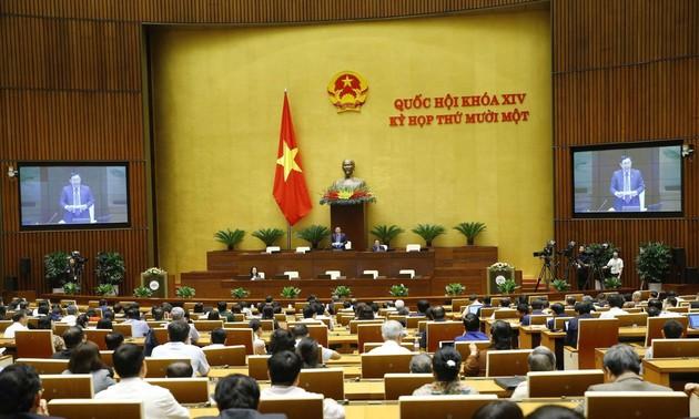 Tiếp tục kỳ họp thứ 11, Quốc hội khóa XIV