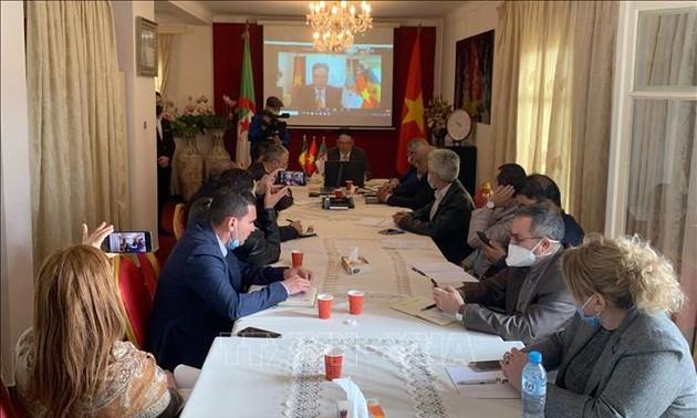 Hội nghị tăng cường hợp tác thương mại và đầu tư Việt Nam – Algeria - Senegal 2021
