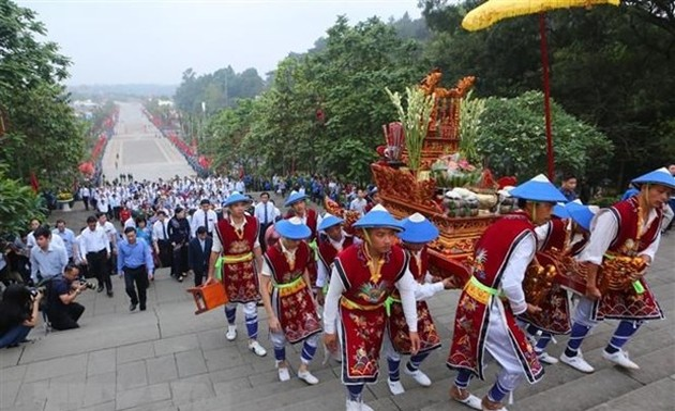 Giỗ Tổ Hùng Vương - Lễ hội Đền Hùng 2021: Nhiều hoạt động tri ân công đức tổ tiên, hướng về cội nguồn dân tộc