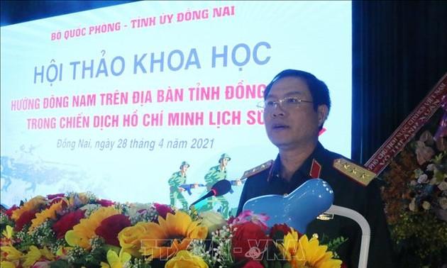 Mũi tiến công hướng Đông Nam trên địa bàn tỉnh Đồng Nai- tiền đề quan trong trong chiến dịch Hồ Chí Minh