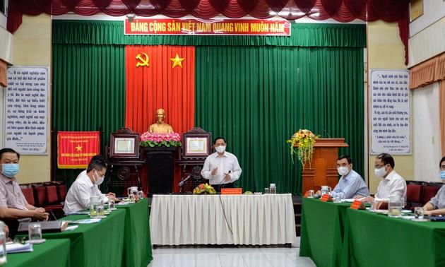 Thủ tướng Phạm Minh Chính: Ngành y tế Cần Thơ phải đi đầu trong công tác phòng, chống dịch COVID -19