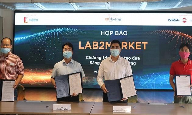 Khởi động Chương trình Ươm tạo đầu tiên ở Việt Nam đưa sáng chế ra thị trường