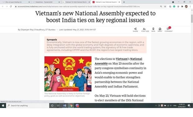 Truyền thông quốc tế đánh giá cao công tác bầu cử của Việt Nam