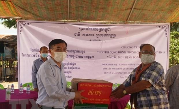 Hỗ trợ bà con gốc Việt tại Campuchia phòng tránh dịch COVID-19 và Chikungunya