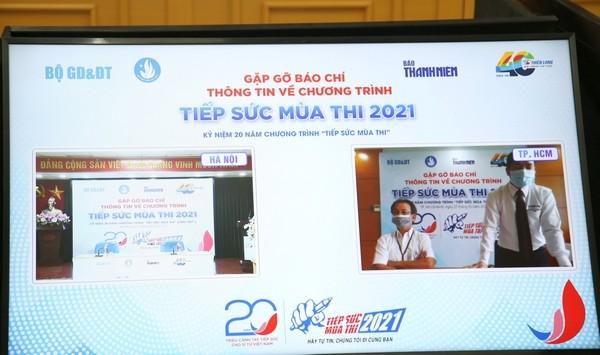 """""""Tiếp sức mùa thi"""" năm 2021: Đẩy mạnh hỗ trợ trực tuyến để phù hợp với tình hình dịch bệnh"""