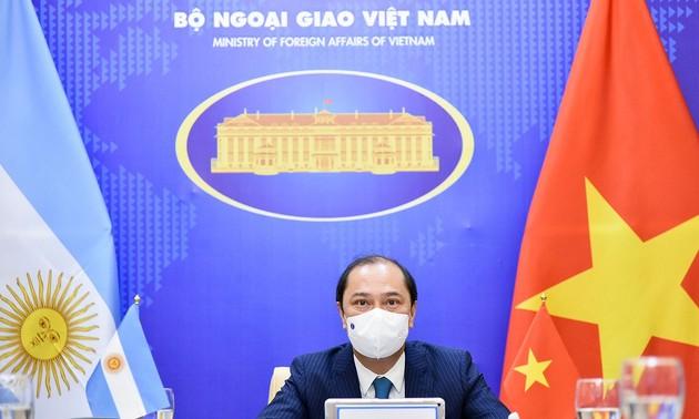 Đưa quan hệ Đối tác toàn diện Việt Nam-Argentina tiếp tục đi vào chiều sâu, ổn định bền vững