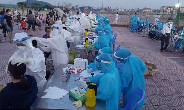12 giờ qua, Việt Nam có thêm 52 ca mắc COVID-19 trong nước
