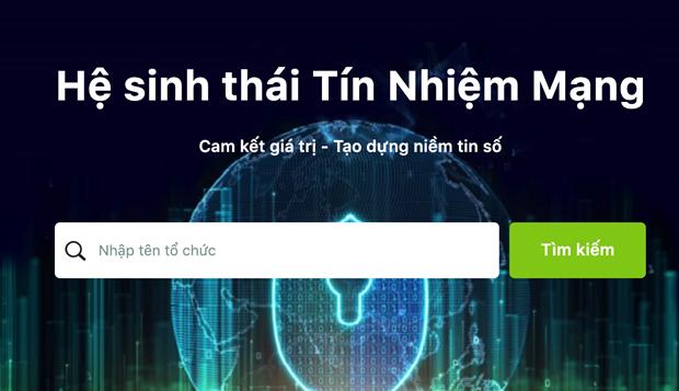Hệ sinh thái Tín nhiệm mạng góp phần phát triển không gian mạng Việt Nam an toàn lành mạnh hơn