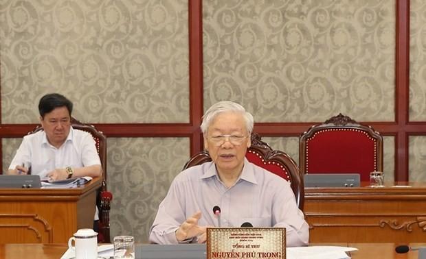 Kết luận của Bộ Chính trị về môt số nhiệm vụ trọng tâm trong công tác chống dịch Covid-19 và phát triển kinh tế- xã hội
