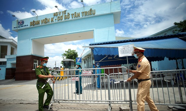 Hà Nội gỡ phong tỏa bệnh viện K cơ sở Tân Triều