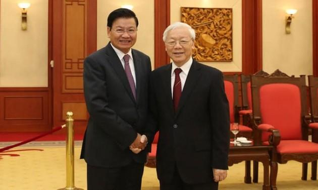 Tổng Bí thư, Chủ tịch nước Cộng hòa Dân chủ Nhân dân Lào sắp thăm hữu nghị chính thức Việt Nam