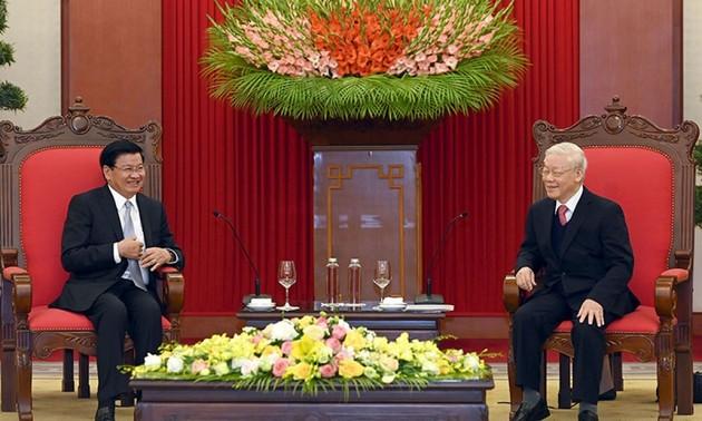Khẳng định tinh thần đoàn kết, gắn bó, tin cậy Việt-Lào