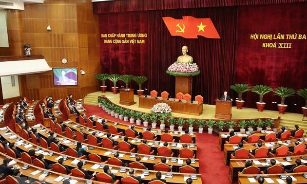 Thực hiện tốt Nghị quyết của Hội nghị Trung ương      là góp phần hoàn thành Nghị quyết Đại hội XIII của Đảng