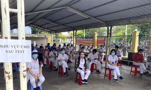 Sáng 10/7, Việt Nam có 598 ca mắc COVID-19