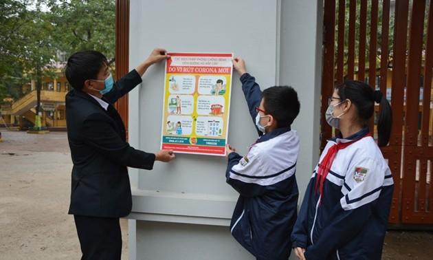 Từ ngày 19/7, học sinh Bắc Ninh trở lại trường học