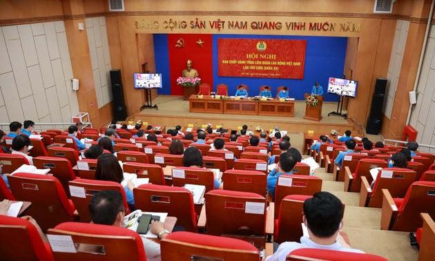 Hội nghị Ban Chấp hành Tổng Liên đoàn Lao động Việt Nam lần thứ 9