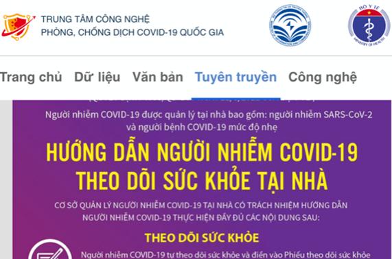 Ra mắt Cẩm nang điện tử phòng, chống dịch COVID-19