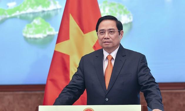 Việt Nam sẵn sàng cùng Trung Quốc và các nước thúc đẩy quan hệ thương mại dịch vụ nói chung